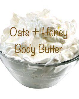 Oats + Honey Body Butter