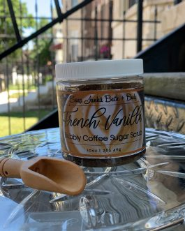 French Vanilla Bubbly Coffee Scrub